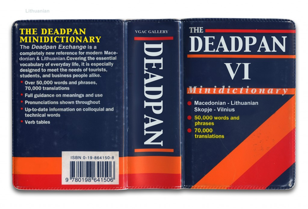 Deadpan Exchange VI Flyer